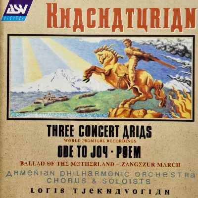 Khachaturian: 3 Concert Arias - 1. Poem: If I Were A Scarlet Coral